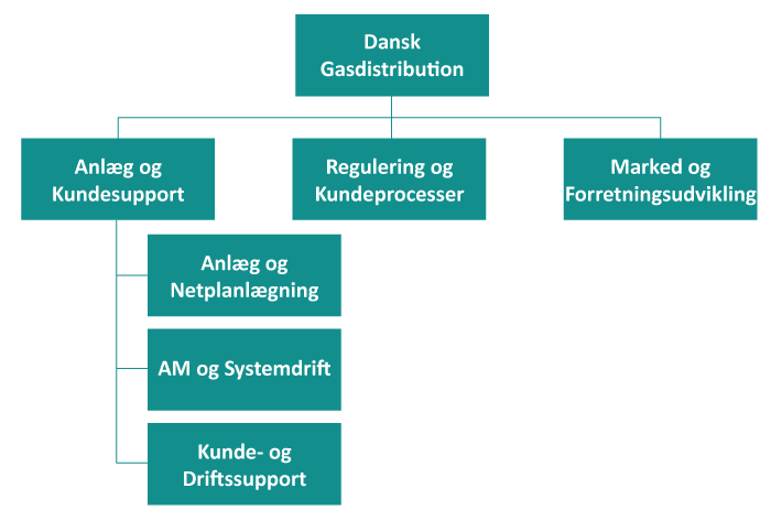 Dansk gas distribution